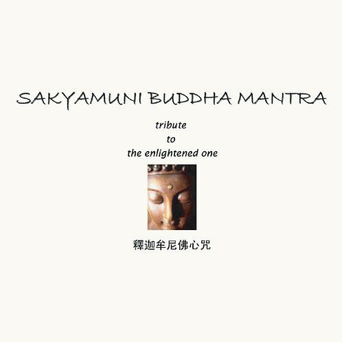 Sakyamuni Buddha Mantra  释迦牟尼佛心咒