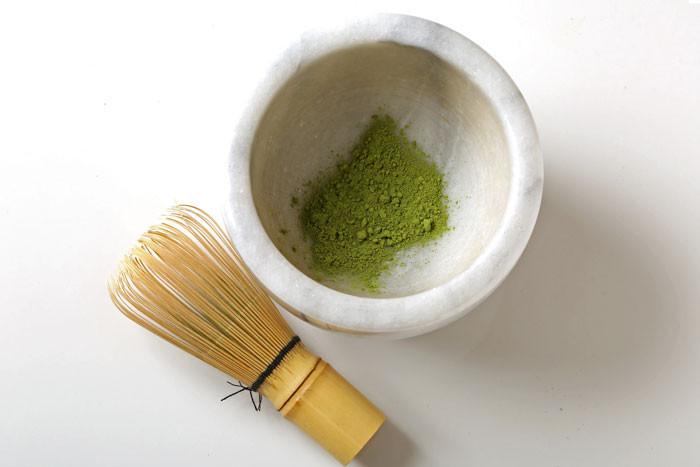 Photo of nutritious matcha green tea