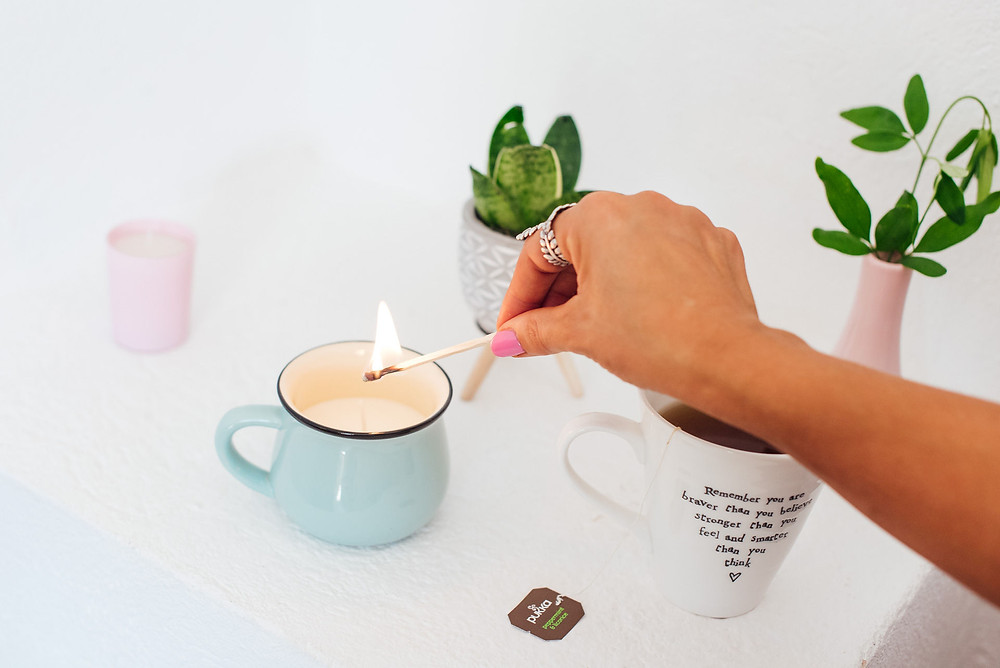 Relaxation with Candle
