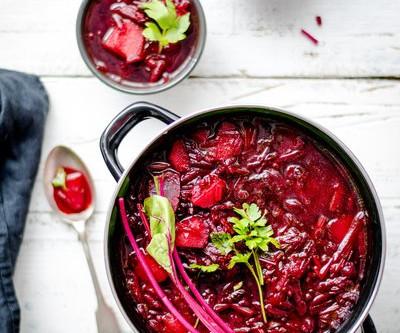 Easy winter Borscht recipe