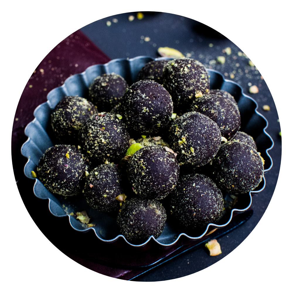 Cacao energy balls