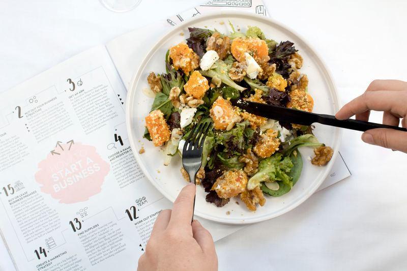 Vegetable Salad, a healthy, balanced lunch