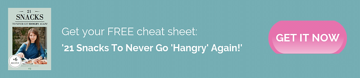 21 Snacks To Never Go Hangry Again Cheat Sheet