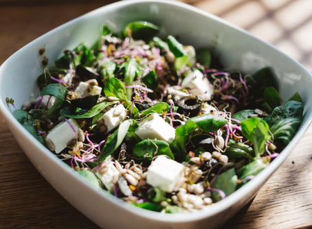 Sprouting grain bowl