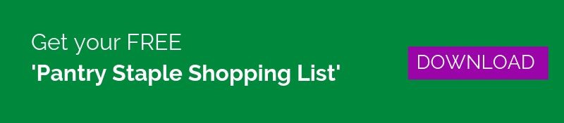 Get your Free Pantry Staple Shopping List