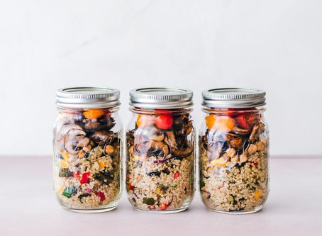 Pantry essentials for effortless Meal Prep + A Shopping List