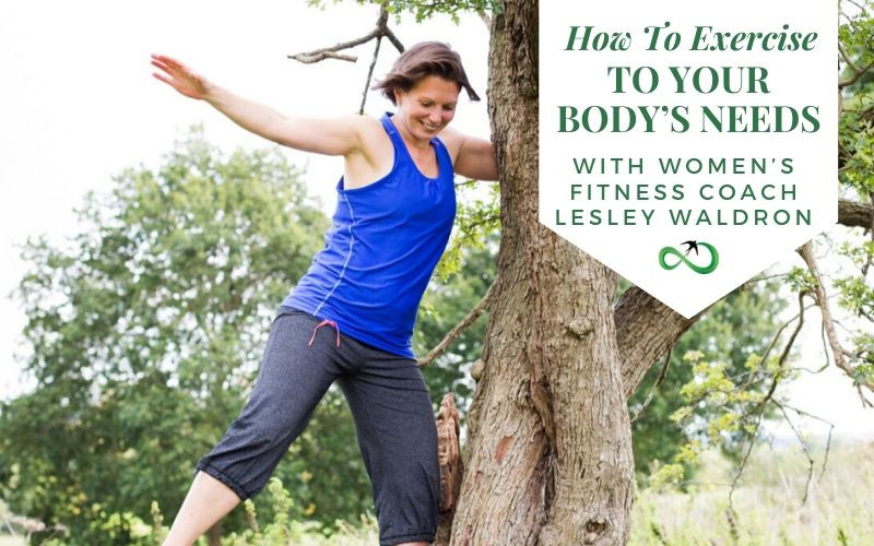 How To Exercise To Your Body's Need with Womens Fitness Coach Lesley Waldron
