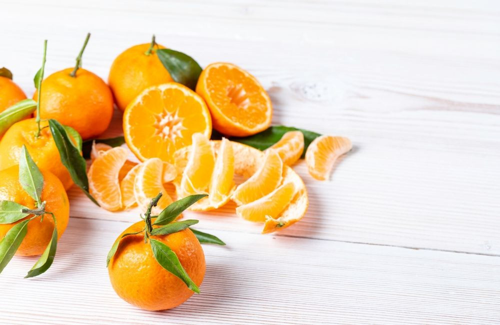 A Plate of Oranges