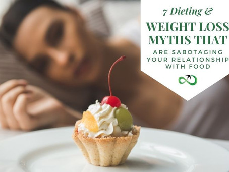 7 Dieting and Weight Loss Myths that are sabotaging your food relationship