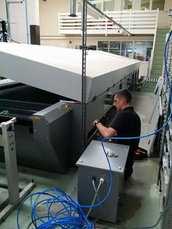 Commercial gas dryer repair