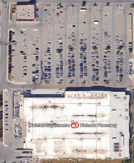Walmarts in Calgary