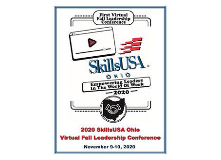 Teachers and Advisors, SAVE THE DATE! SkillsUSA Ohio Virtual Fall Leadership Conference 2020
