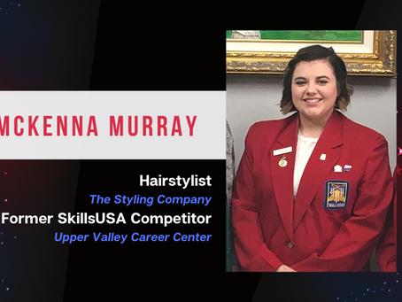 A BURST OF COURAGE: SkillsUSA helps McKenna demand the best from herself