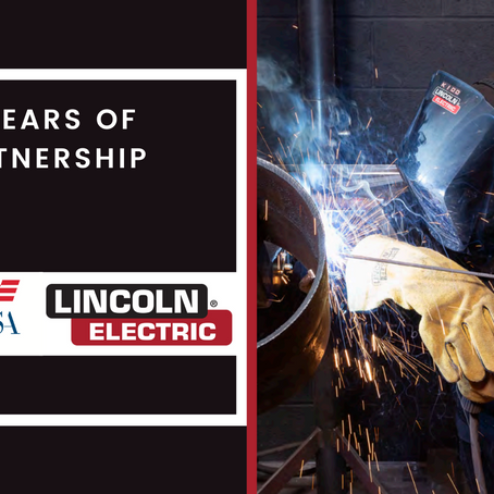 50 YEARS OF PARTNERSHIP: Lincoln Electric puts high value on leading tech education for youth