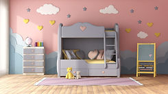 colorful-children-room-with-bunk-bed-G45