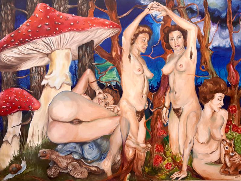 Aphrodite und die Chariten