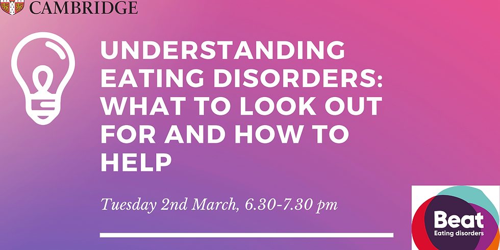 Understanding Eating Disorders: What to look out for and how to help