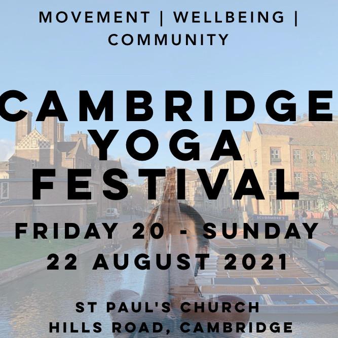 Cambridge Yoga Festival!