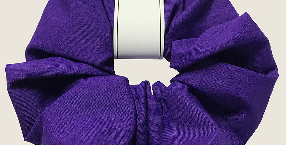 Hand made Purple Scrunchie