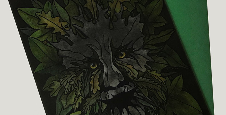 The Green Man - Greeting Card