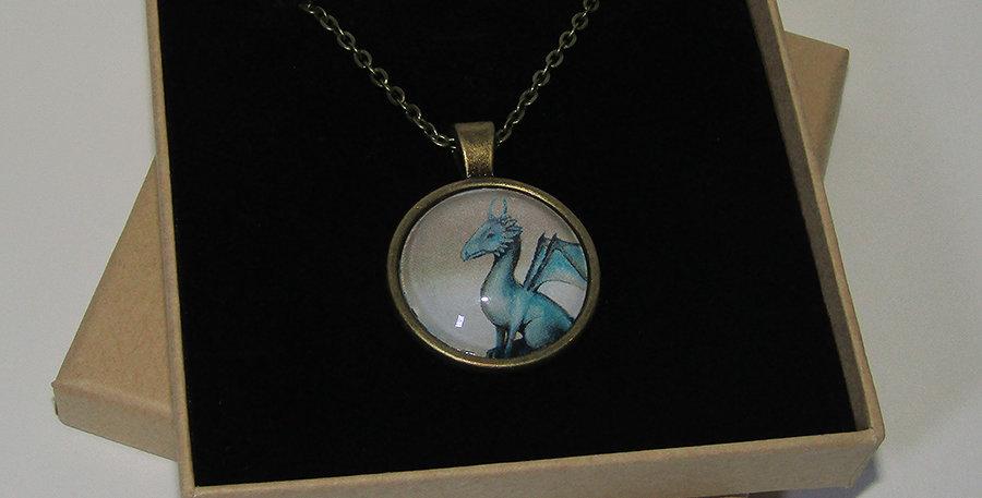 Dragon Pendant and chain