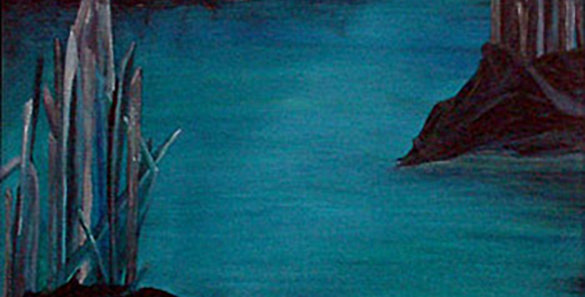 Draca ~ acrylic painting