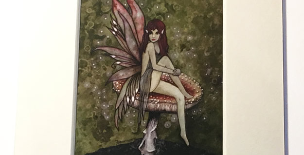 Forest Fae ACEO print
