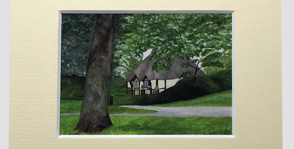 Higher Lodge ~  ACEO print