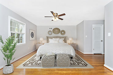 virtual staging bedroom furniture example