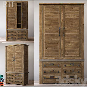 virtual staging designer virtual furniture and dressers for virtually staged rooms - restoration hardware