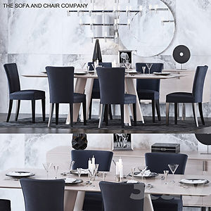 virtual staging designer virtual furniture and dining room sets and dining room tables for virtually staged rooms - sofa and chair company