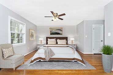 virtual staging restoration hardware bedroom set