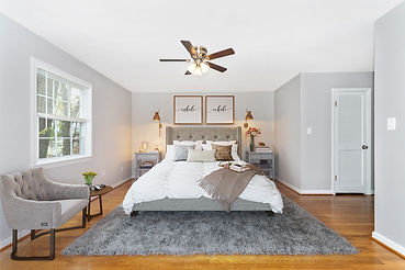 virtual staging pottery barn style bedroom virtual furniture