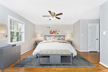 virtual staging pottery barn virtually staged bed