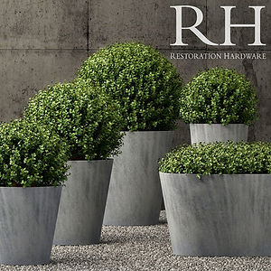 virtual staging designer virtual furniture and plants for virtually staged rooms - restoration hardware
