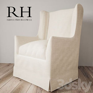 virtual staging designer virtual furniture and chairs for virtually staged rooms - restoration hardware