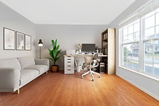 virtual staging examples virtually staged home office