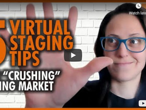 5 Virtual Staging Tips: How to CRUSH it in Real Estate this Spring Market!