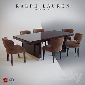 virtual staging designer virtual furniture and dining room sets and dining room tables for virtually staged rooms - ralph lauren