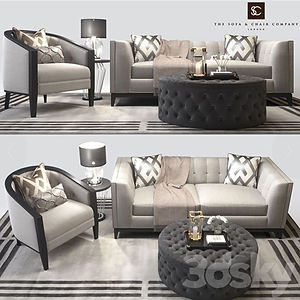 virtual staging designer virtual furniture and sofas and couches and living room sets for virtually staged rooms - sofa and chair company