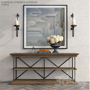 virtual staging designer virtual furniture and coffee tables and end tables for virtually staged rooms - parisian cornice
