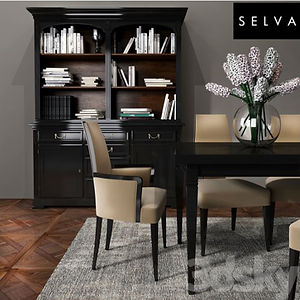 virtual staging designer virtual furniture and dining room sets and dining room tables for virtually staged rooms - selva