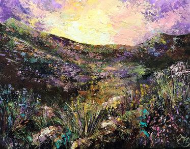 Colours at dawn £350