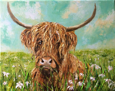 Daisy in the Meadow SOLD