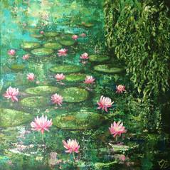 Waterlillies no 4 £560