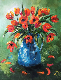 Red Tulips £250