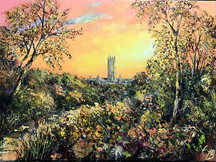 A Pilgrims Sunset  £600