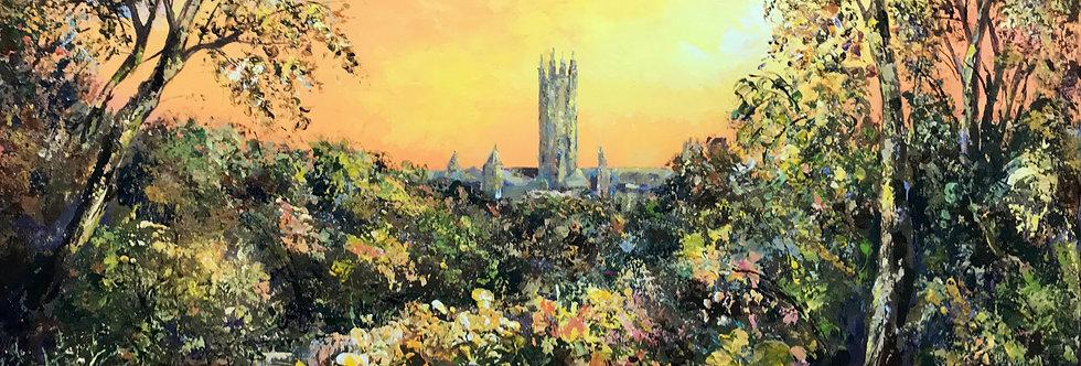 Pilgrim Sunset