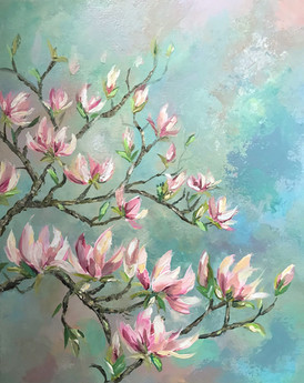 Magnolia in Spring SOLD