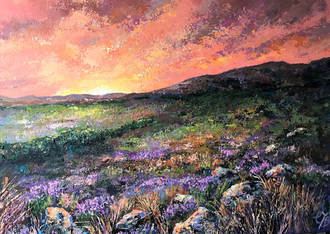 Evening on the Moors SOLD